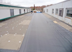 EPDM Roofing in Progress