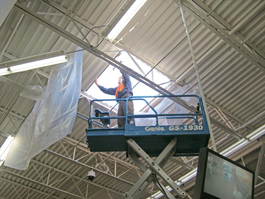 Commercial Skylight Install